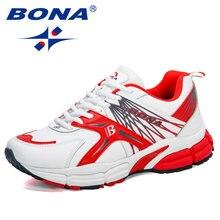 BONA 2020 Neue Designer Marke Laufschuhe Männer Sport Schuhe Sporttrainer Wanderschuhe Mann Jogging Schuhe Zapatos Hombre
