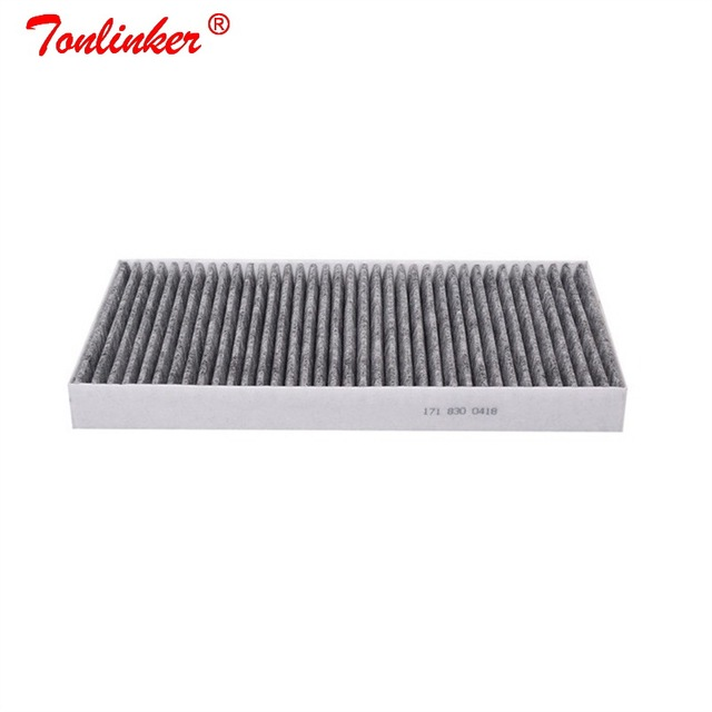 Kabin filtresi A1718300418 için 1 adet Mercedes benz SLC R172 180 200 250d 300 SLC43 2016 /SLK R171 r172 200 280 300 350 55 AMG modeli