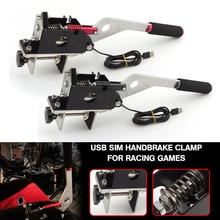 Pcmos SIM USB Handbremse Clamp Für Racing Spiele G25/27/29 T500 FANATECOSW DIRT RALLY UR Auto Ersatz Teile Hand bremse New