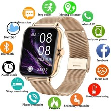 2021 New Color Screen Smart watch Ladies Men Full Touch Fitness Tracker Blood Pressure Smart Clock Ladies Smart Watch For xiaomi