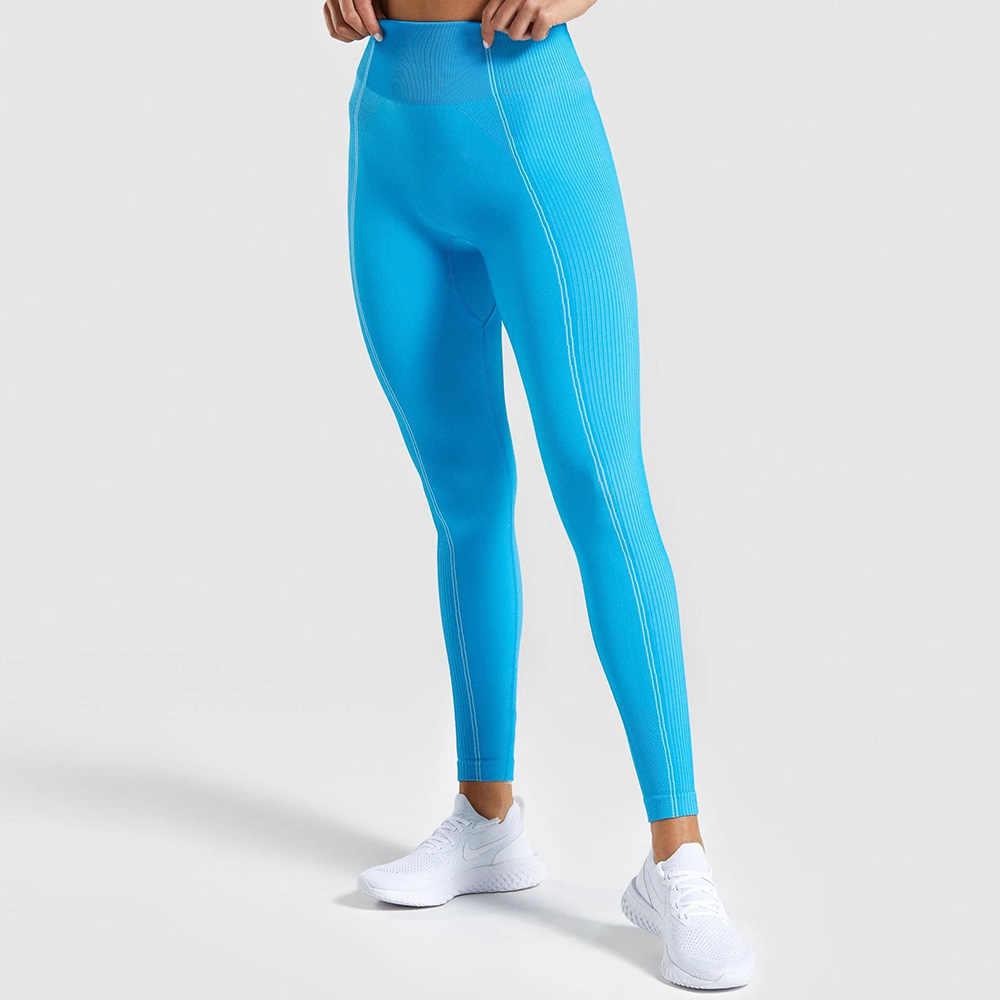2020 Gym Panty Ultra Naadloze Tummy Controle Yoga Broek Hoge Taille Sport Naadloze Leggings Paars Running Broek Vrouwen