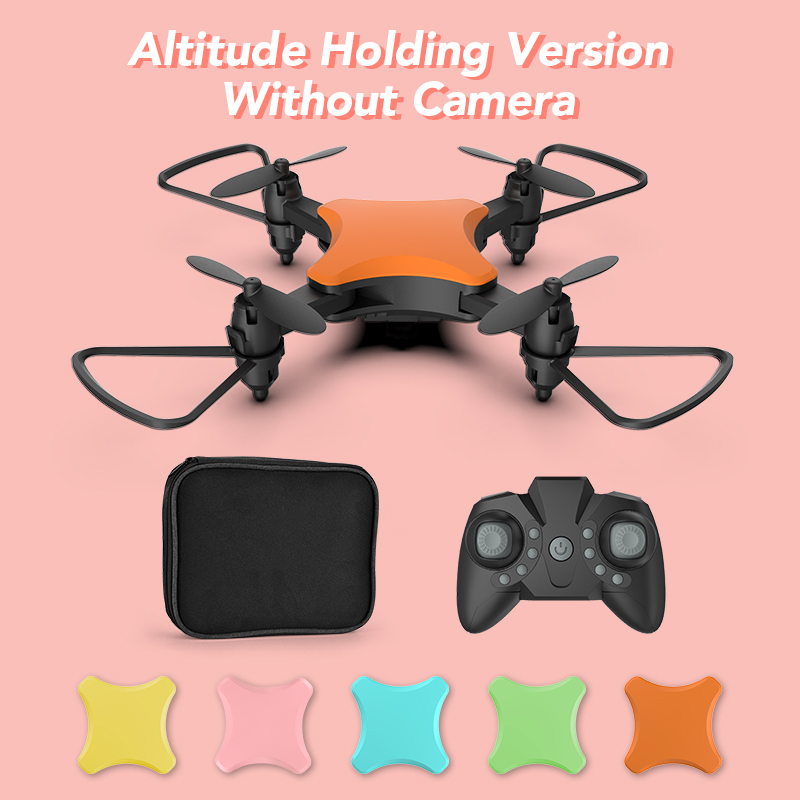 XKY KY902S Mini RC Drone 2.4Ghz Fold Drone Wifi FPV 4K HD Camera Selfie Drone Altitude Hold & Headless Mode RC Quadcopter Drone