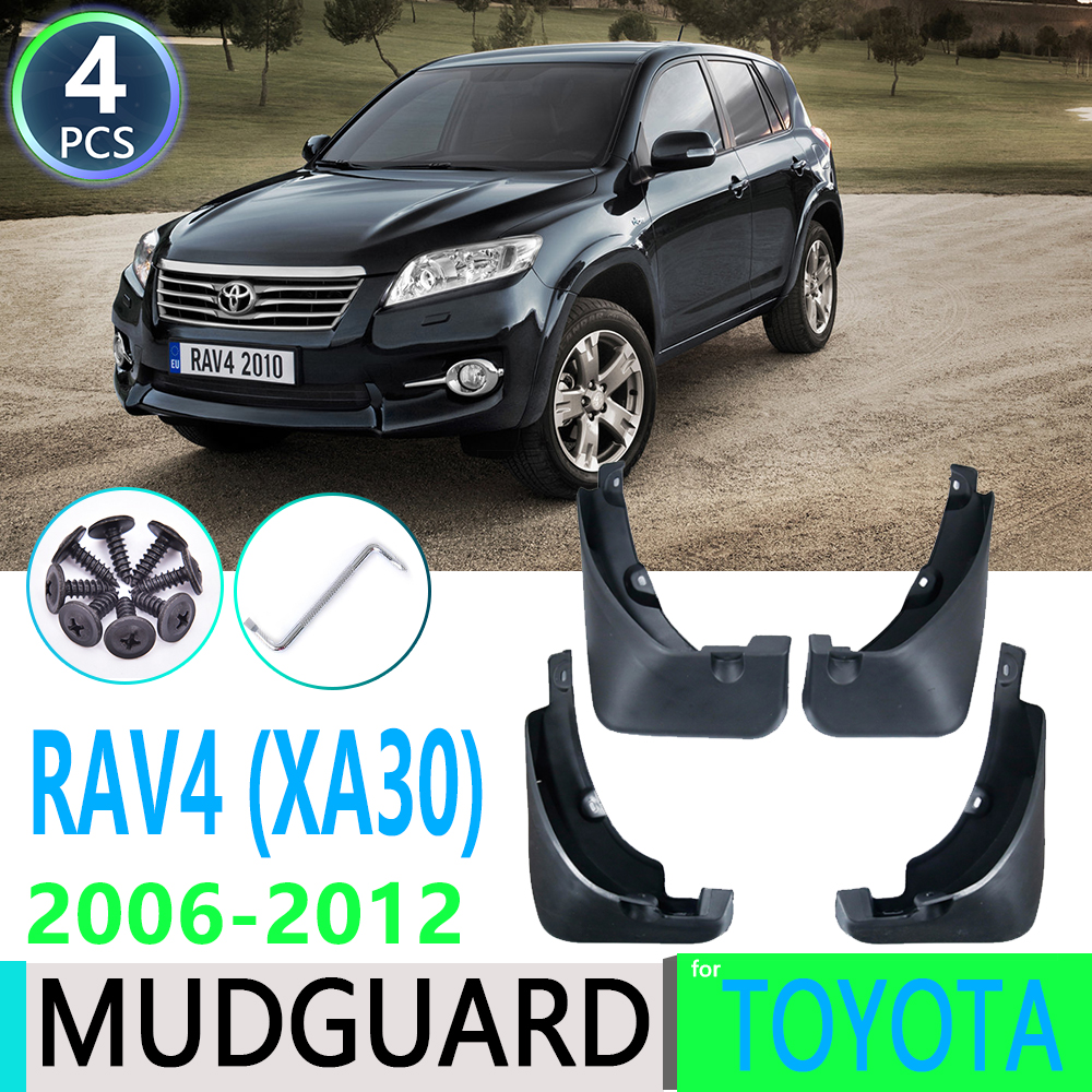 for <font><b>Toyota</b></font> <font><b>RAV4</b></font> 2006~2012 2007 2008 2009 <font><b>2010</b></font> 011 XA30 Car Fender Mudguard Mud Flaps Guard Splash Flap Mudguards Car Accessories image