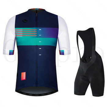 2020  Pro Team Cycling Jersey Set Short Sleeve Bicycle Clothing Kit Mtb Bike Wear Triathlon Uniforme Maillot Ciclismo Gobikeful rock 2020 cycling jersey set short sleeve bib shorts maillot ciclismo pro team bike clothing mtb summer sportswear bicycle kit