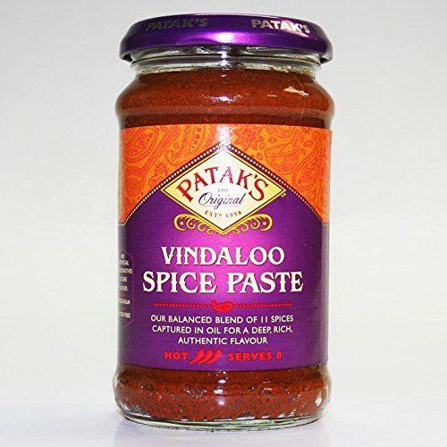 Pataks Vindaloo Curry Paste - 2 X 283g