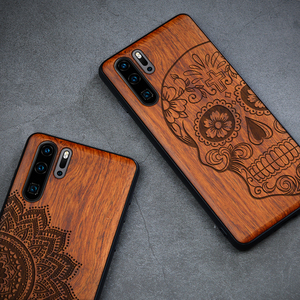 Image 3 - Wood Phone Case For Huawei P30 Lite P30 P20 Pro Luxury Cover For Huawei Honor 20 10 v20 9x mate 30 Pro Wooden Slim Case Cover