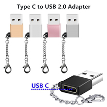 все цены на USB Male to USB Type C Female OTG Adapter Converter Type-c Cable Adapter For samsung huawei xiaomi macbook USB-C Data Charger онлайн