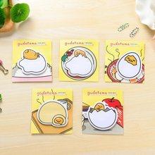 1 paczka/partia śliczne rysunkowe jajko notatki pięć losowych papeterii Memo papierowe karteczki samoprzylepne