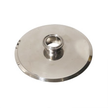 Tri Clamp Reducer Flange OD End Cap Reducing SUS 304 Stainless Steel SanitaryConnector 1.5