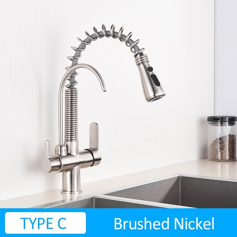 TYPE C Brush Nickel