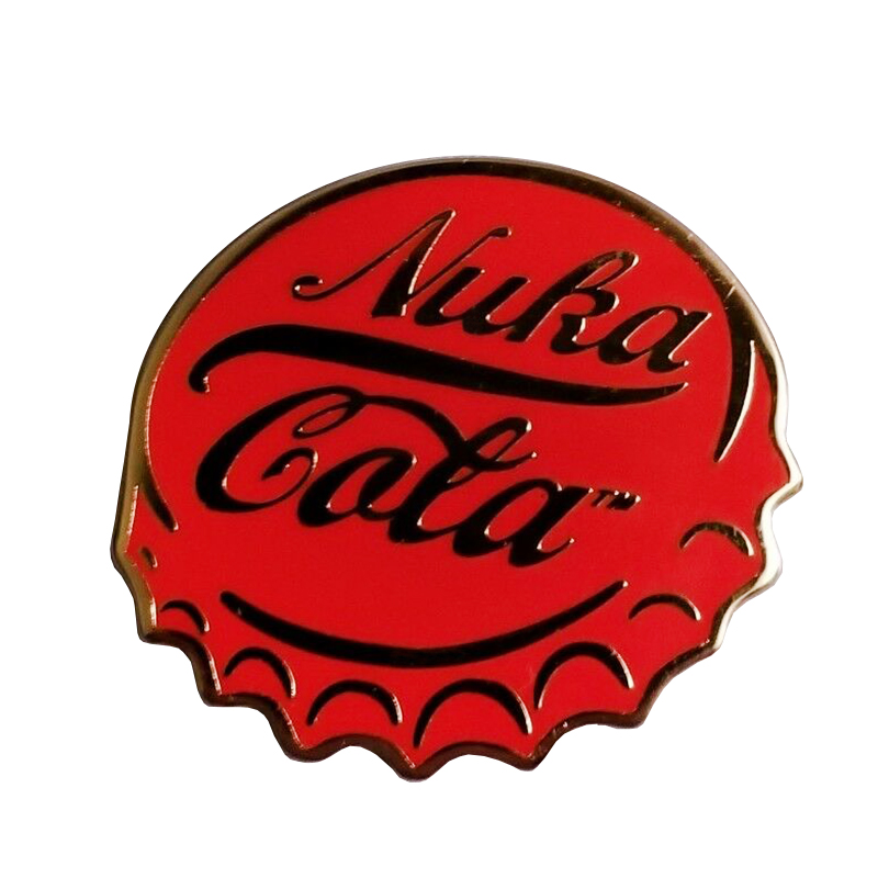 Fallout 4 Nuka Cola  bottle cap enamel pin
