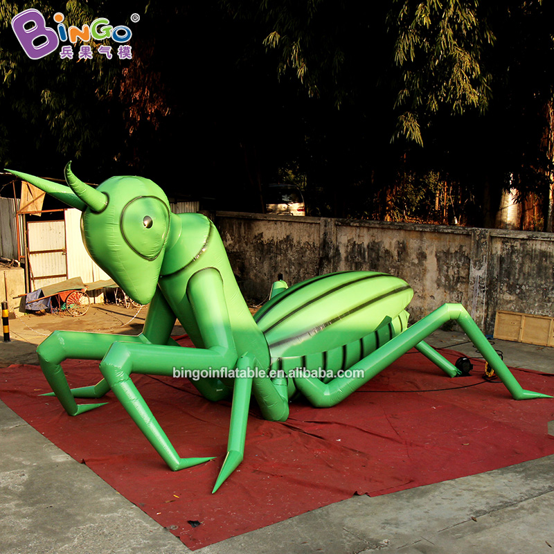 6.4*4.6*4 meters inflatable praying mantis model custom made insect series decorating event toy for garden etc