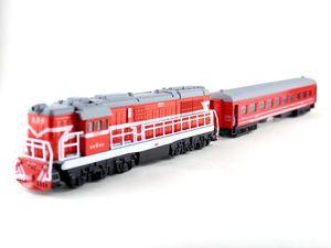 Image 5 - 1:50ダイキャストおもちゃモデル中国古典東風5271機関車古典的な音と光のおもちゃ送料無料