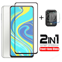 2 in 1 tempered glass for redmi note 9 pro note 9s pro max screen protector camera lens protective glass for redmi note 9s glass cheap KINGZALIN Front Film XIAOMI Mobile Phone tempered glass film for redmi note 9 pro tempered glass film for redmi note 9 pro max