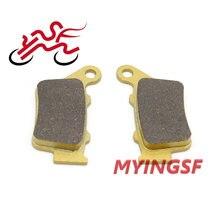 Задние тормозные колодки для yamaha xt 660r 660x wr 125x 125r