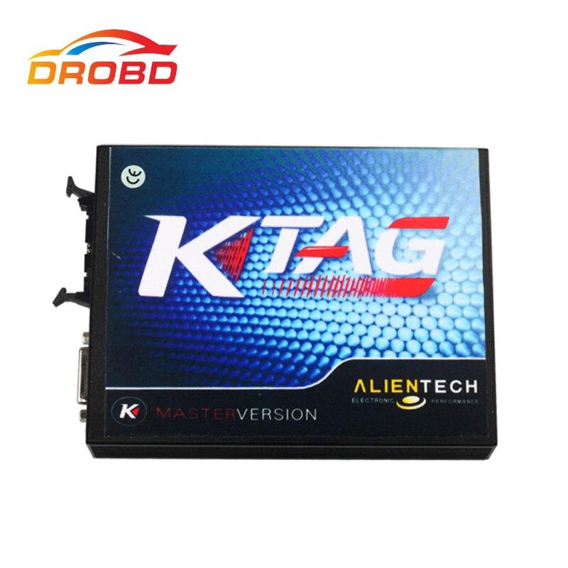 ECU Programmer V2.13 KTAG K-TAG Firmware V6.070 ECU Programming Tool Master Version with Unlimited Token