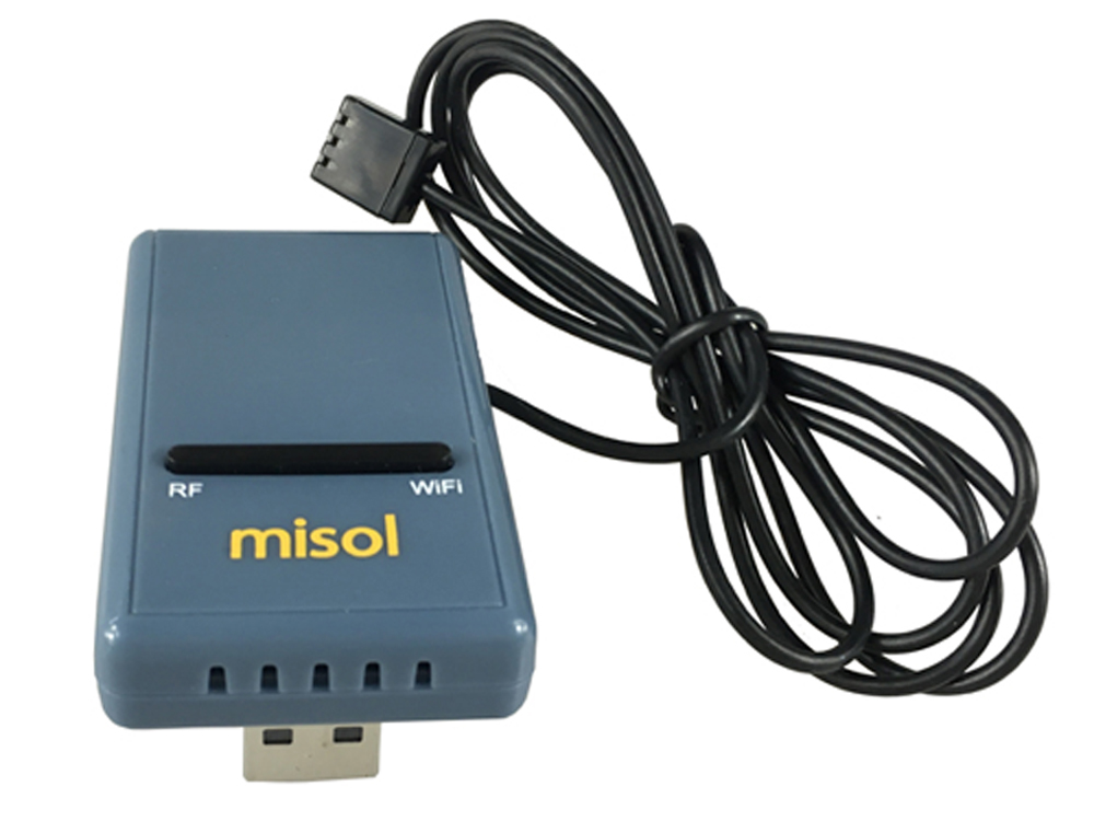 MISOL SmartHub WiFi Gateway con temperatura, umidità e pressione GW1000