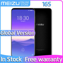 In Stock Meizu 16s Global Version Meizu16s 128GB Smartphone Snapdragon 855 48MP Camera NFC Android Pay Cellphone 24W Fast Charge(China)