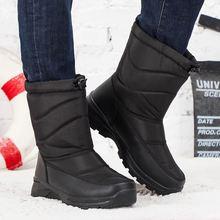 2020 зимние мужские сапоги теплые вельветовые Уличная обувь;