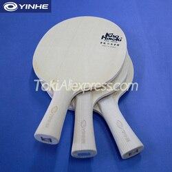 YINHE Kiso Hinoki/KISO 5/7/9 (Reine Hinoki Auch Lagen Holz) YINHE Tischtennis Klinge/Schläger Galaxy Ping Pong Bat/Paddle