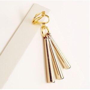 Лидер продаж Аниме цельные серьги «Саурон», клипсы, серьги, розовое золото, ушной крючок Пластиковые Косплей маленькие ювелирные изделия 4|Серьги-подвески|   | АлиЭкспресс