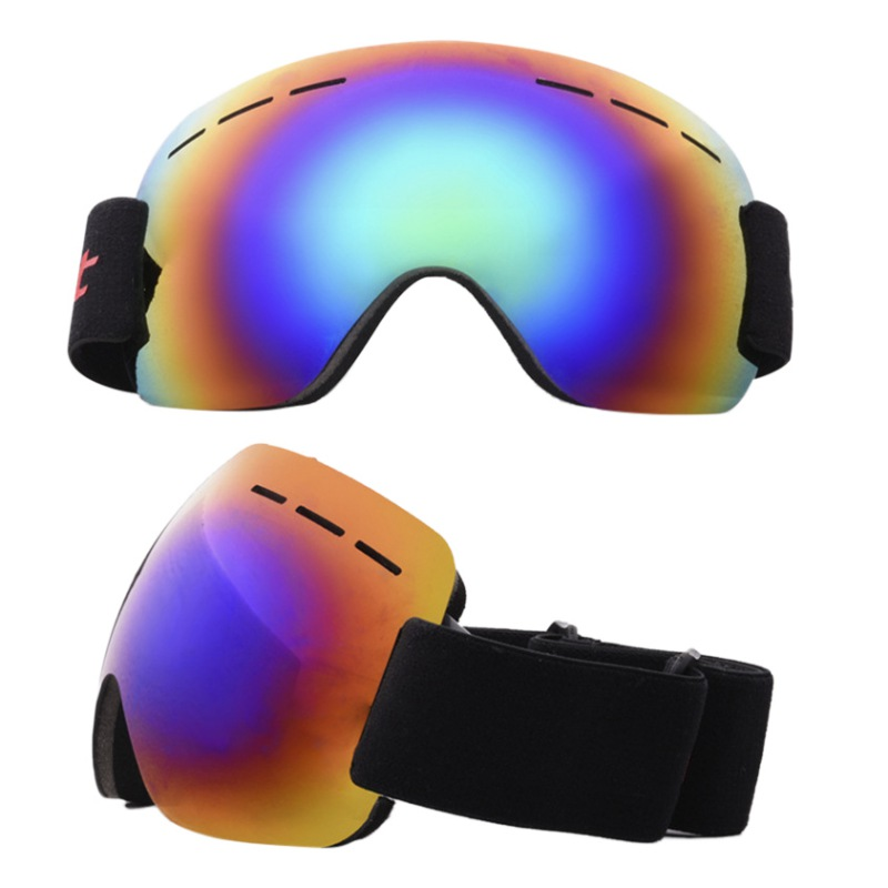 +Winter Skiing Goggles Double Layers Anti-fog Big Ski Mask Glasses Cycling Men Women Snow Snowboard Goggles