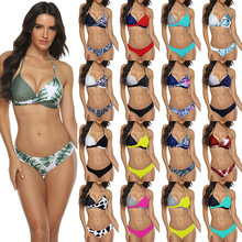Two-Piece Suits Women Swimsuits Bikini Set Swimming Suit For Women Bath Clothing Free Swim With Pad Clothes Summer Wire Swimwear