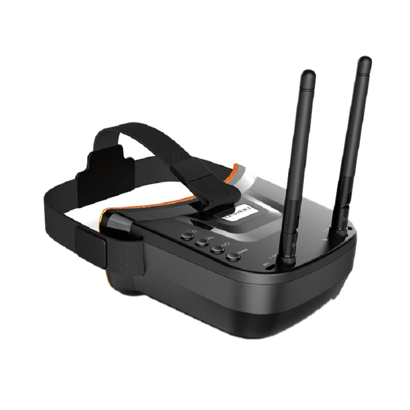 Fb-009 3 Inch <font><b>480</b></font> X <font><b>320</b></font> Display 5.8G 40Ch Mini Fpv Goggles Built-In 3.7V 1200Mah Battery 5.8Ghz 40Ch Receiver Fpv Goggles image