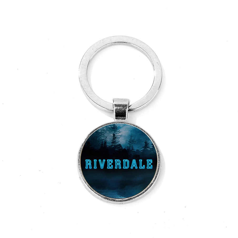 SONGDA แฟชั่น Riverdale พวงกุญแจร้อนอเมริกันทีวี Mysteries of Riverdale คริสตัล Key Chain งูรูปร่าง Handmade Unisex Key แหวน