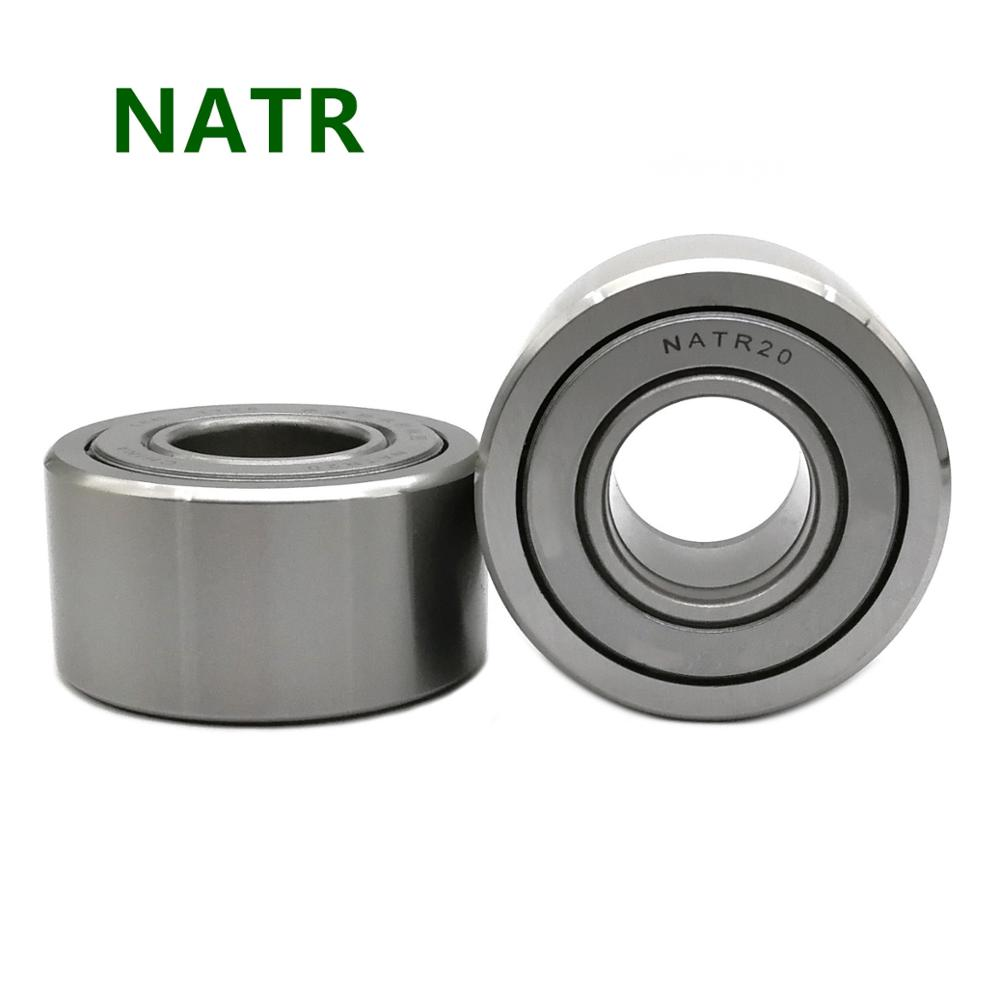 Free Shipping Bearing NATR 5 6 8 10 12 15 17 20 25 30 35 40 45 50 PP Yoke Type Cam Follower Support Track Roller Needle Bearings