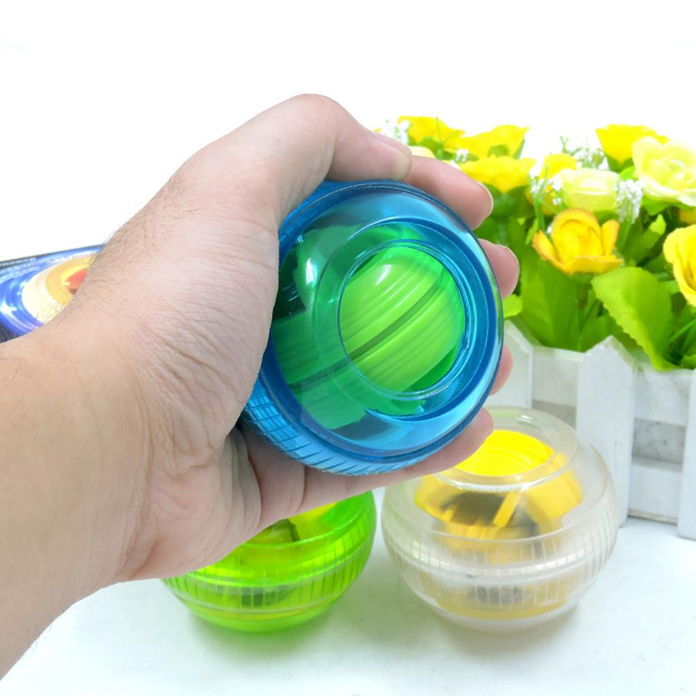 Strength Gyroscope Ball Toy Double Gyroscope Wrist Arm Muscle Power Force Exercise Strengthen Ball Toy Hand Grips Fitness