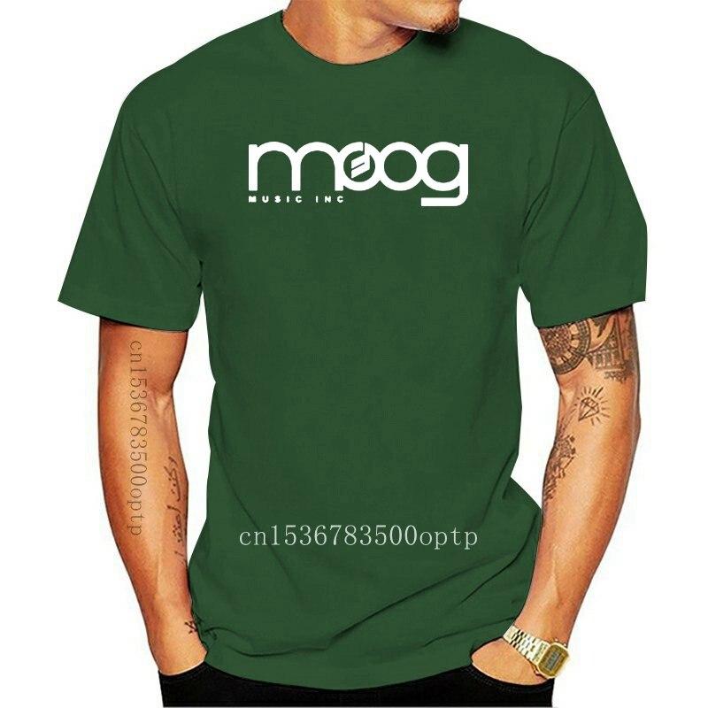 Moog Synthesizer Mens White T-Shirt S-XXL