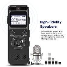 VR520 سر مسجل صوتي صوتي رقمي 8 جيجابايت 16 جيجابايت المهنية المحمولة مسجل MP3 للأعمال دعم ما يصل إلى 64 جرام TF بطاقة