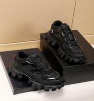 Hottest Top quality luxury Brand Triple Transparent Sole Shoes Dad shoes Non slip soles Sneakers Fashion Men Casual Shoes 35 46