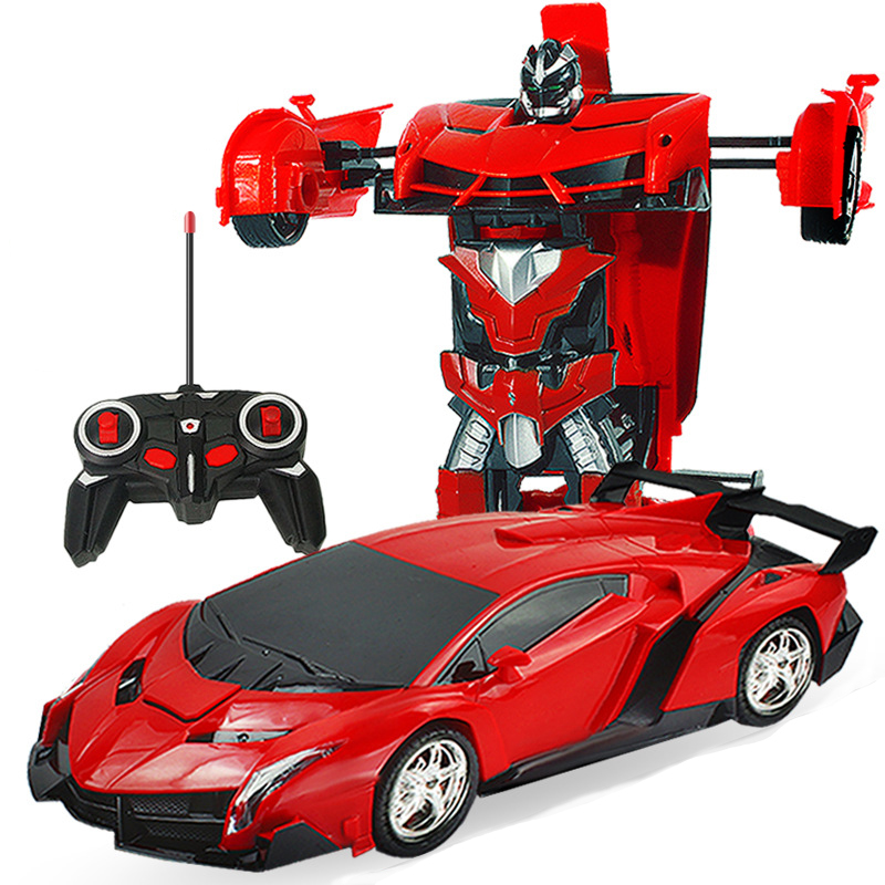 New Rc Car Deformation 2 In 1 RC Car Driving Sports Cars Drive Deformation Robots Models Remote Control Car RC Fighting Toy Gift
