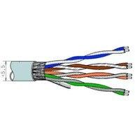 305 M Kabel Ftp Netwerk Kabel-Coil Cat5e Stijve Cu Lszh Televes