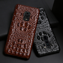 Leather Phone Case For Xiaomi Redmi Note 9S 8 7 6 5 K30 Mi 9 se 9T 10 Lite A3 Mix 2s Max 3 Poco F1 X2 X3 F2 Pro Crocodile Head
