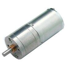1 pces 25ga370 metal gear motor dc 6v/12v/24v com caixa de engrenagens micro dc redutor motor 12/16/26/35/60/130/280/620/1360rpm