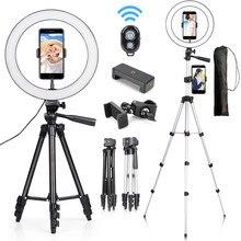 Tripé de pouco peso da câmera suporte do telefone portátil desktop suporte para o iphone canon sony nikon vídeo fotografia luz para