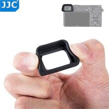 JJC لينة العدسة العين كوب لسوني A6300 A6100 A6000 NEX 6 NEX 7 يستبدل FDA EP10 فنجان العين dslr FDA EV1S الإلكترونية عدسة الكاميرا
