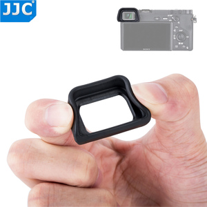 Image 1 - JJC Soft Eyepiece Eye Cup for SONY A6300 A6100 A6000 NEX 6 NEX 7 Replaces FDA EP10 Eyecup dslr FDA EV1S Electronic Viewfinder