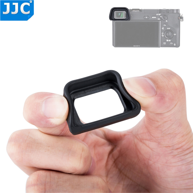 JJC Soft Eyepiece Eye Cup for SONY A6300 A6100 A6000 NEX 6 NEX 7 Replaces FDA EP10 Eyecup dslr FDA EV1S Electronic Viewfinder