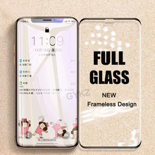 Frameless Tempered Glass For iPhone X XS Max XR 11 Pro MAX Screen Protector Tempered Glass For iPhone XS MAX 11PROMAX Glass Film