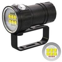 500W Professionelle Fotografie Füllen Licht Tauchen Taschenlampe Rot Blau Licht Blendung High Power Unterwasser 80 Meter Ipx8|Outdoor-Werkzeuge|   -