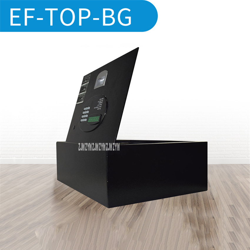 EF-TOP-BG Upper Cover Type Electronic Lock Security Door Safe Deposit Box Small Steel Hotel Guest Room Drawer Password Safe