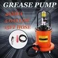 Воздушный масляный насос высокого давления (15FT Hose Gun), комплект, 5 галлонов, отличный универсальный ролик, гидравлический шланг, пресс