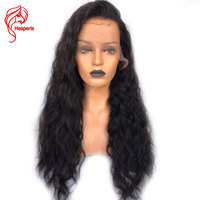 Hesperis 13x6 Brazilian Remy Hair Soft Wave Lace Front Wigs 130Density Pre Plucked Glueless Human Weave Hair Lace Wigs For Women