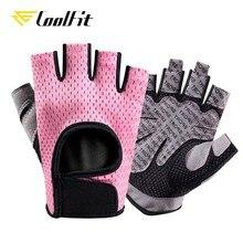 CoolFit nefes spor eldiven silikon palmiye Hollow geri spor eldivenleri halter egzersiz halter Crossfit vücut geliştirme