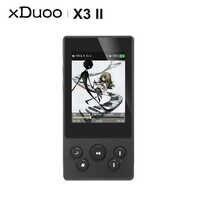 XDUOO X3II X3 II AK4490 DAC USB portátil Bluetooth HD sin pérdida MP3/WAV/FLAC reproductor de música DSD128 Hiby enlace en línea de Control