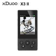 XDUOO X3II X3 II AK4490 USB DAC Bluetooth Draagbare HD Lossless MP3/WAV/FLAC Muziekspeler DSD128 Hiby link In line Controle